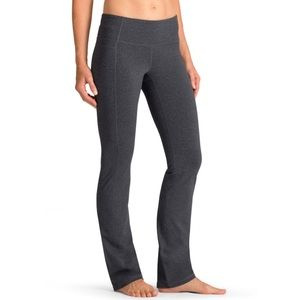 Athleta Heather Gray Straight Up Pant Size SP